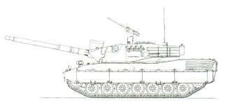 LIGHT TANKS AND MAIN BATTLE TANKS Above;