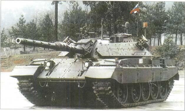 LIGHT TANKS AND MAIN BATTLE TANKS