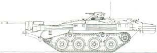 in the Swedish Bandkanon 1A 155mm self-propelled gun (qv). STATUS Production complete.