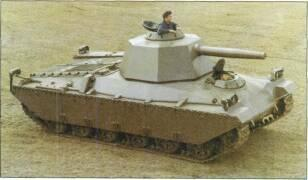 LIGHT TANKS AND MAIN BATTLE TANKS For trials purposes a Pz 68 MBT has been upgraded