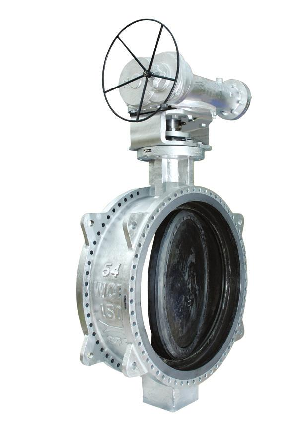 Triple-offset Butterfly Valves L&T Valves offers a comprehensive range of Triple-offset Butterfly Valves in a variety of body styles and materials to address critical process requirements in diverse