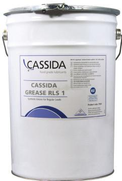 Cassida Grease RLS 2 FOOD GRADE LUBRICANTS FOOD GRADE LUBRICANTS Grease for the food manufacturing industry NLGI 2 Cassida Greases RLS are specially blended for the grease lubrication of machinery