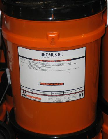 INDUSTRIAL OILS SHELL PRODUCTION ENGINEERING OILS Dromus BL Dromus BL is a general purpose soluble oil for moderate duty machining on a wide range of materials.