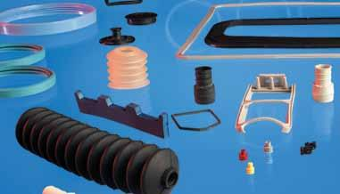 Typical items include dust covers, bushes, plugs, bungs, covers and specialist gaskets. V-rings V-rings are an all axial elastomer seal for shafts and bearings.
