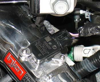 Figure 44 Periodically, check the fitment of both intake systems.