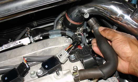 Align the entire intake system for the best possible fit.