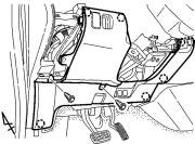 A 6) 7. Remove the lower dash cover. (Fig. A 7) Screw Fig. A 5 Screw i.
