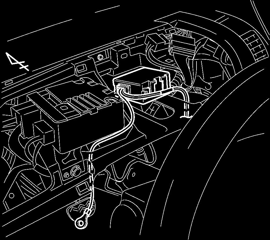 5. Secure the 2P connectors to the vehicle harness with one (1) medium wire tie. (Fig. D 3) E. V2 Harness Installation (continued). Power Steering Control Module 1.