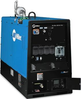 Big Blue 600 Series Features Digital meters with SunVision technology enable welding parameters to be viewed with greater clarity than analog meters at virtually any angle.