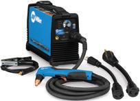 Provides an area to conveniently wrap weld cables and extension cords.