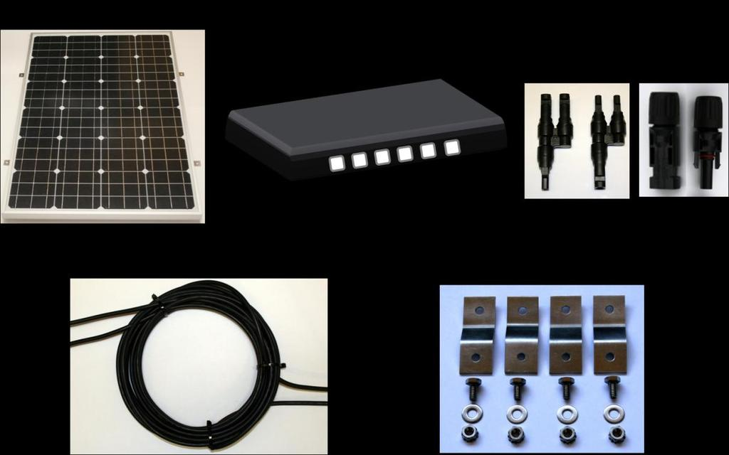 2 PRODUCT OVERVIEW Building a complete off-grid solar system has never been easier.