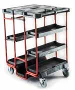 mechanism) ensure easy maneuverability Full extension metal drawers with ball bearing slides DESCRIPTION DIMENSIONS CAPACITY 43781060 4