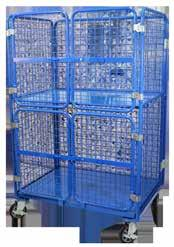 Fitted with fold away upper shelf and 270 degree opening lockable doors, this trolley can be used in a single or a two shelf configuration.