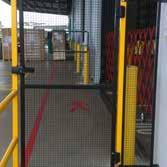 Installation services include barrier
