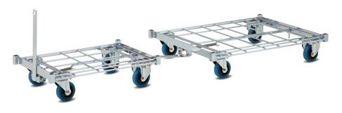 01.01 KT1 order picking trolley The KT1 order picking trolley is ideal for
