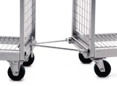 01.02 KT2 order picking trolley Standard boxes The KT2 can also easily transport standard boxes.
