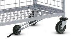 KT3 as a table trolley with height of 1,230 mm Dimensions (mm): L