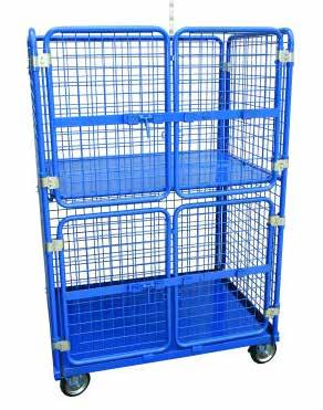 1200mm L Shelves 2 x adjustable mesh shelves Welded steel construction Flat steel bottom and middle shelf Middle shelf