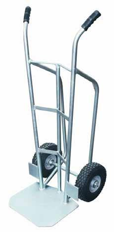 Height HAND TRUCK 41691026 1220mm Fixed axle for greater strength Toe Plate Size 350mm L x 200mm W Fixed axle for greater strength Toe