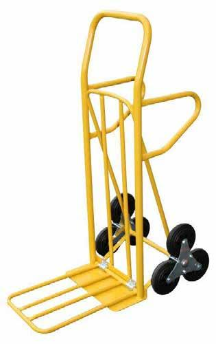 MEDIUM DUTY STAIR CLIMBER HAND TRUCK HEAVY DUTY STAIR CLIMBER HAND TRUCK Medium duty industrial strength stair climber hand truck Move heavy loads up or down stairs Fully