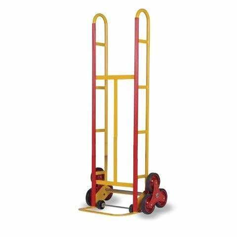 welded construction Dimensions HAND TRUCK 41431004 520mm W x 410mm D x 1500mm H Powder coated finish Toe Plate Size 425mm W x 140mm D Powder coated finish Toe Plate Size