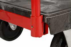 transporting 1130kg Casters 5 Rubber 5 Rubber 400kg 400kg Notches on both sides for securing