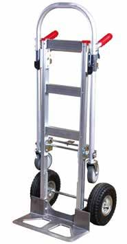 41171000 530mm W x 1180mm D x 1040mm H All welded heavy duty flat deck trolley for warehouse, store and factory