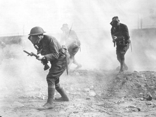 Chemical Weapons The first large-scale use of lethal poison gas on the battlefield was by the Germans on 22 April 1915 during the Battle of Second Ypres.