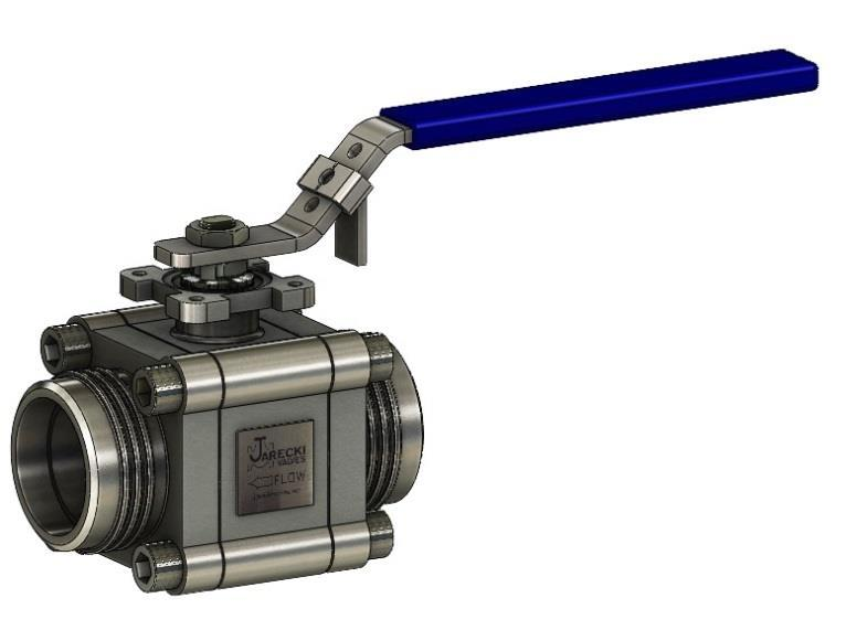 W SERIES 3-PIECE BALL VALVES In-Line repairable metal seated ball valves for industrial and process applications.
