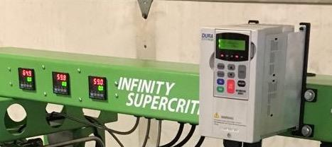 Kiinja System Versus Infinity Supercritical CO2 Extraction System 4 Automation: ABB full automation, which allows duplication of recipies, similar to Apeks.
