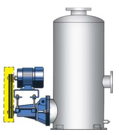 1.5 A Typical 855 Series Specification (Specifier s options in parentheses) Each pump shall be a horizontal, end suction OH motor (close coupled) tank flange mounted centrifugal pump capable of