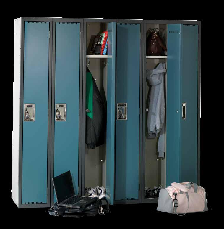 Deluxe Series Lockers Fresh lines, smooth and silent operation, safety and durability make the Deluxe Series Locker our most popular