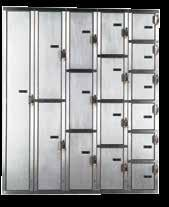 President Coin Locker To provide the ultimate in corrosion protection, the President Coin Locker is