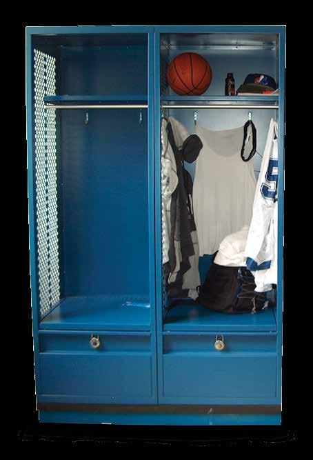 As with all Shanahan s lockers, these lockers operate quietly, due to no moving parts and built-in door