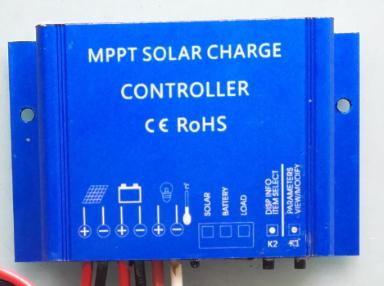 Built-in Smart Solar Controller with LED Indicators Mounted behind the panels, the controller ensures the safety of the panels and batteries.