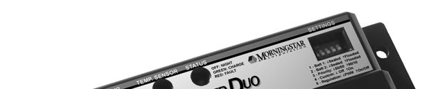 SUNSAVER DUO TM Installation and