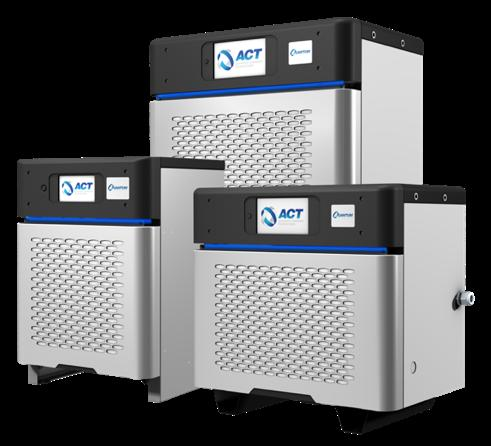 ACT Quantum Chargers Energy Management Capabilities The Quantum charger, ACT s flagship products, is the industry s first smart industrial charger appliance that feature many advanced energy