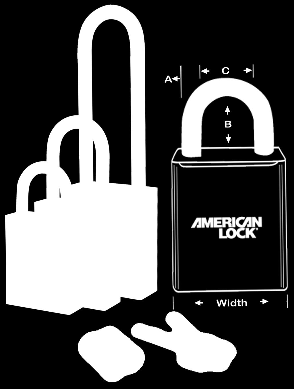 expand your current key system Cores may be ordered both as part of a complete American Lock IC padlock assembly, or separately, keyed up and ready to plug into your system Padlock bodies will also