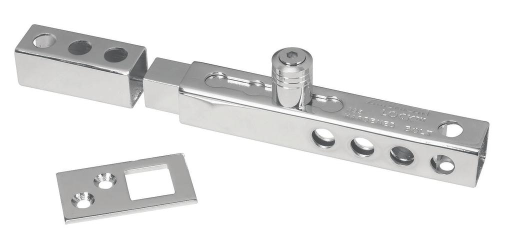 corrosion-resistance Fully adjustable from 3/4 to 2-3/8 Mounting hardware
