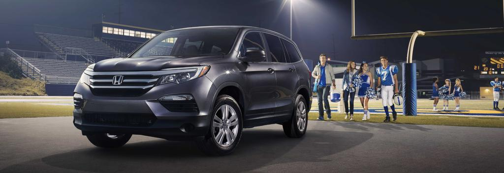 Honda Pilot All-Season Floor Mats Muddy sneakers, snow-covered boots, and sandy flip-flops can wreak havoc on the 2017 Honda Pilot s carpeting.