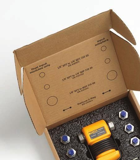 Pressure module performance and technology Fluke 750P Series pressure modules are highly accurate, with specifications that apply from 0 C to 50 C (32 F to 122 F), a feature that sets them apart from