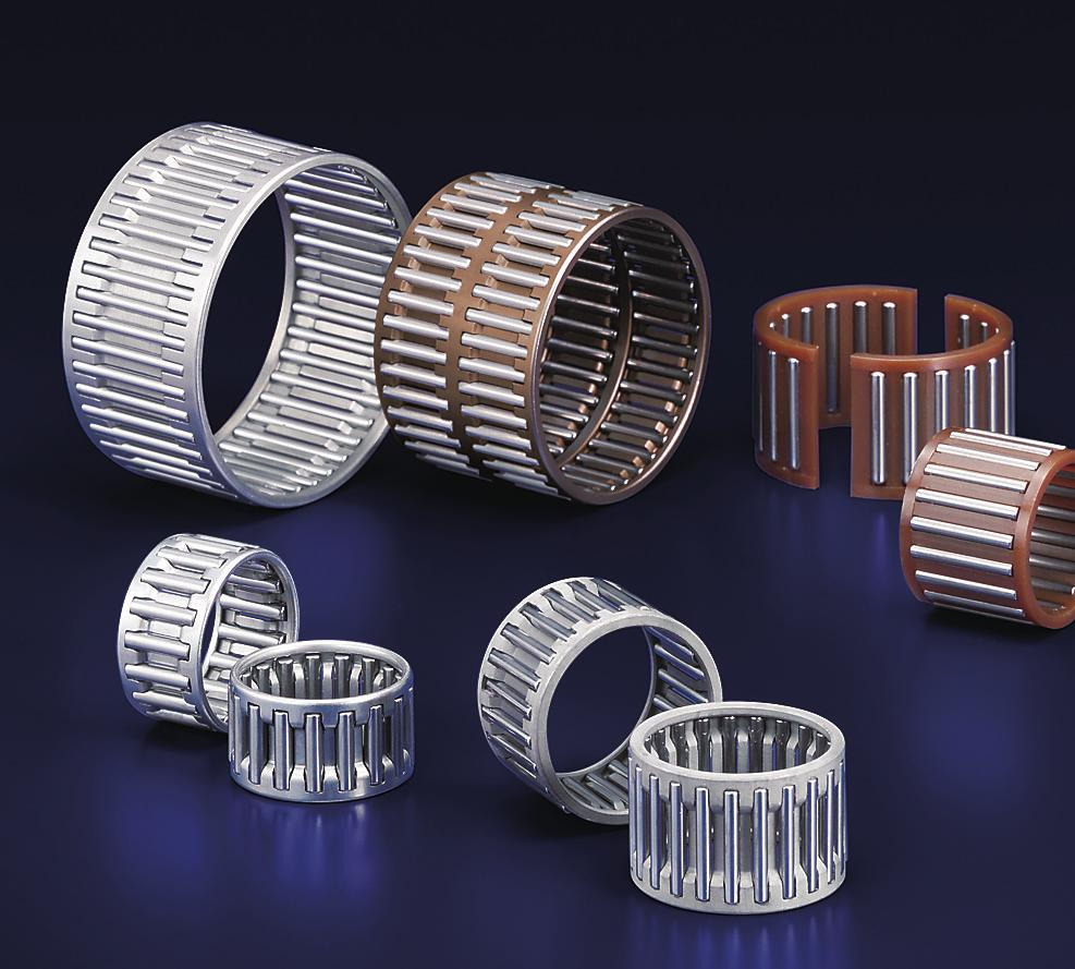 Cage & Needle Roller Assemblies NSK cage and needle roller assemblies are high-quality
