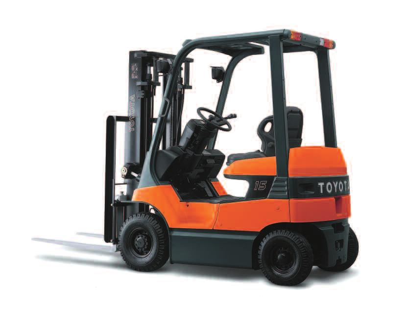 7-SERIES ELECTRIC POWERED FORKLIFTS 7FB PNEUMATIC