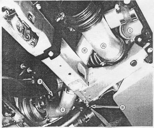 Page 13 Figure 5 Intercooler Parts 16-19 16. Tube #3 17. Tube #6 18.