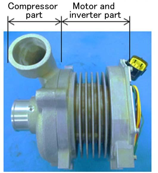 72 A high-speed motor which allows operation at a maximum of 90000 rpm is to be developed. The high-speed motor generates low noise, and can start from the stopped condition.