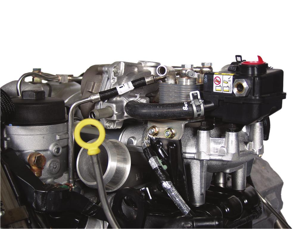 air ma nagement s ystem Series Sequential & Actuator The series sequential turbocharger for the 6.