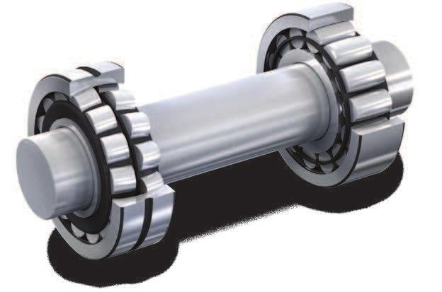 SKF self-aligning bearing system In the past, applications that had to contend with misalignment and thermal elongation of the shaft used a locating/nonlocating bearing arrangement with two spherical