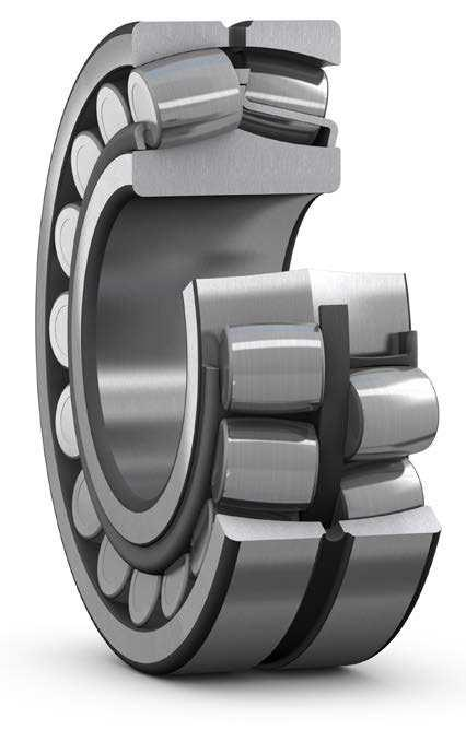 upgraded SKF Explorer spherical roller bearings can last up to twice as long as previous generation bearings when operating under contaminated or poor lubrication conditions.