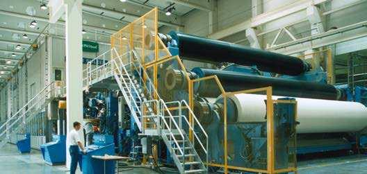 equipment Pulp and paper processing