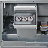 Components Low-voltage compartment, low-voltage niche Features Overall heights 200 mm, 400 mm, 600 mm, 900 mm Option: Cover Partitioned